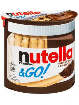 Ferrero Nutella & Go Hazelnut Spread & Malted Bread sticks