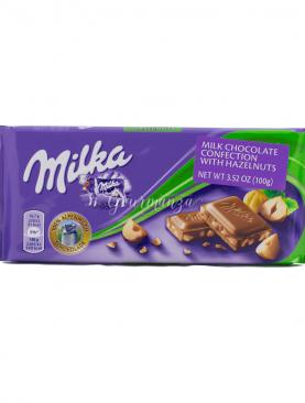 MILKA 100g Hazelnuts Chocolate
