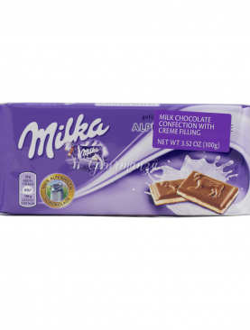 Wholesale Milka Creamy Dark Chocolate Bar