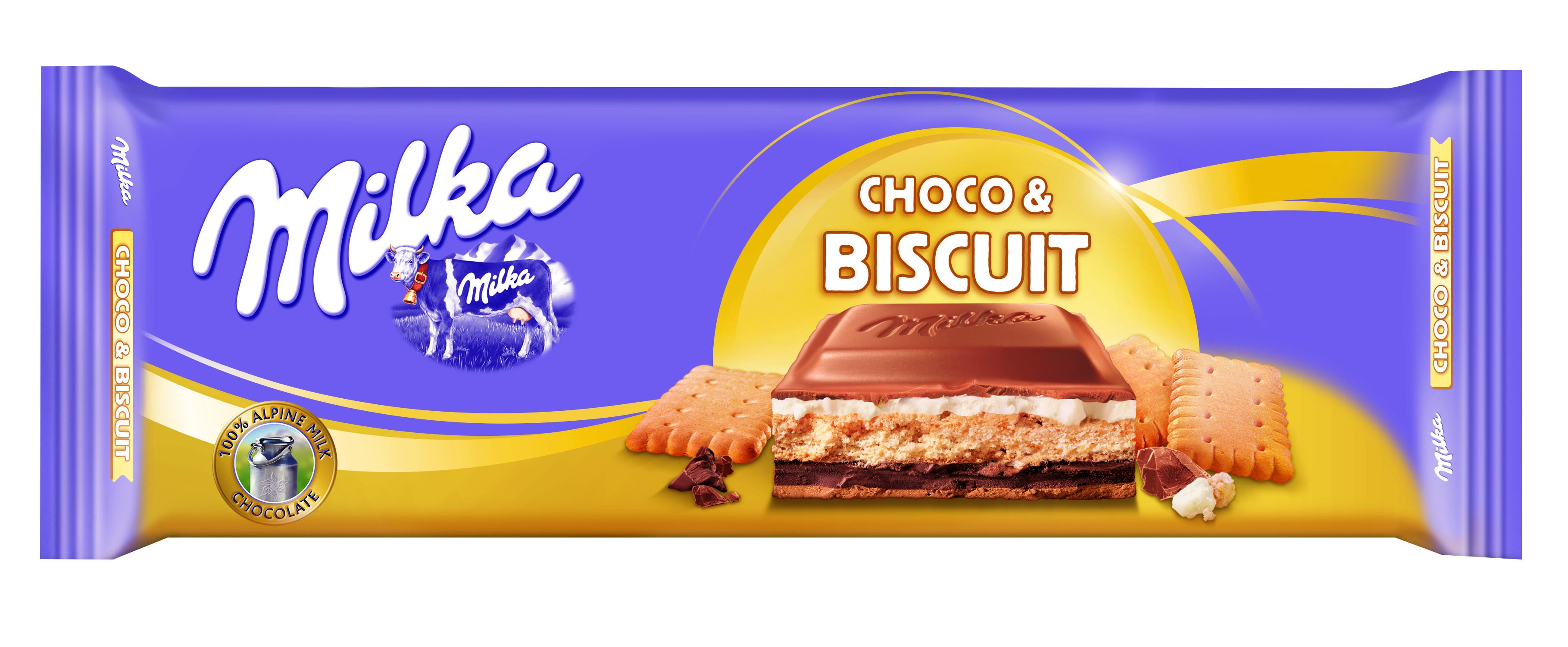 MILKA 300g Choco & Biscuit Chocolate