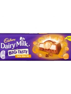 Cadbury Dairy Milk Big Taste Toffee Wholenut