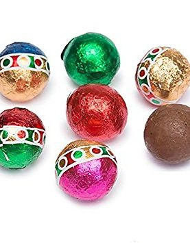 Foiled Milk Chocolate Foiled Sports Balls Ð 5 Lb. Bag(360-piece)