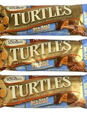 Wholesale Chocolate Turtles Sea Salt Caramel Clusters