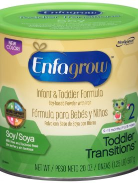 Enfagrow Toddler Transitions Soy Formula Powder