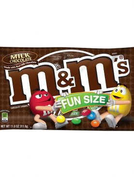 Buy M&MÕs Milk Chocolate Fun Size Packets