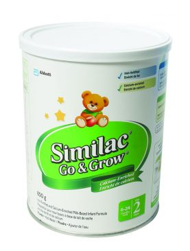 Similac Iron-Fortified and Calcium-Enriched Infant Formula Powder Step 2