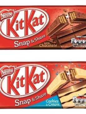Kit Kat Cookies & Cream Sharing Block