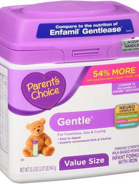 Parent's Choice Gentle Infant Formula 33.2 oz