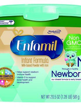 Enfamil Newborn Non-GMO Infant Formula Powder