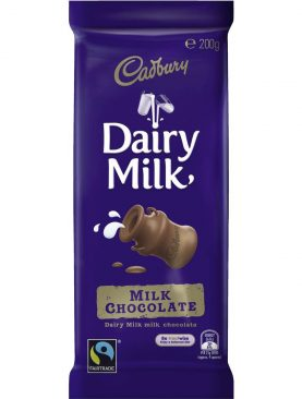 Cadbury Fair Trade Dairy Milk Bubbly