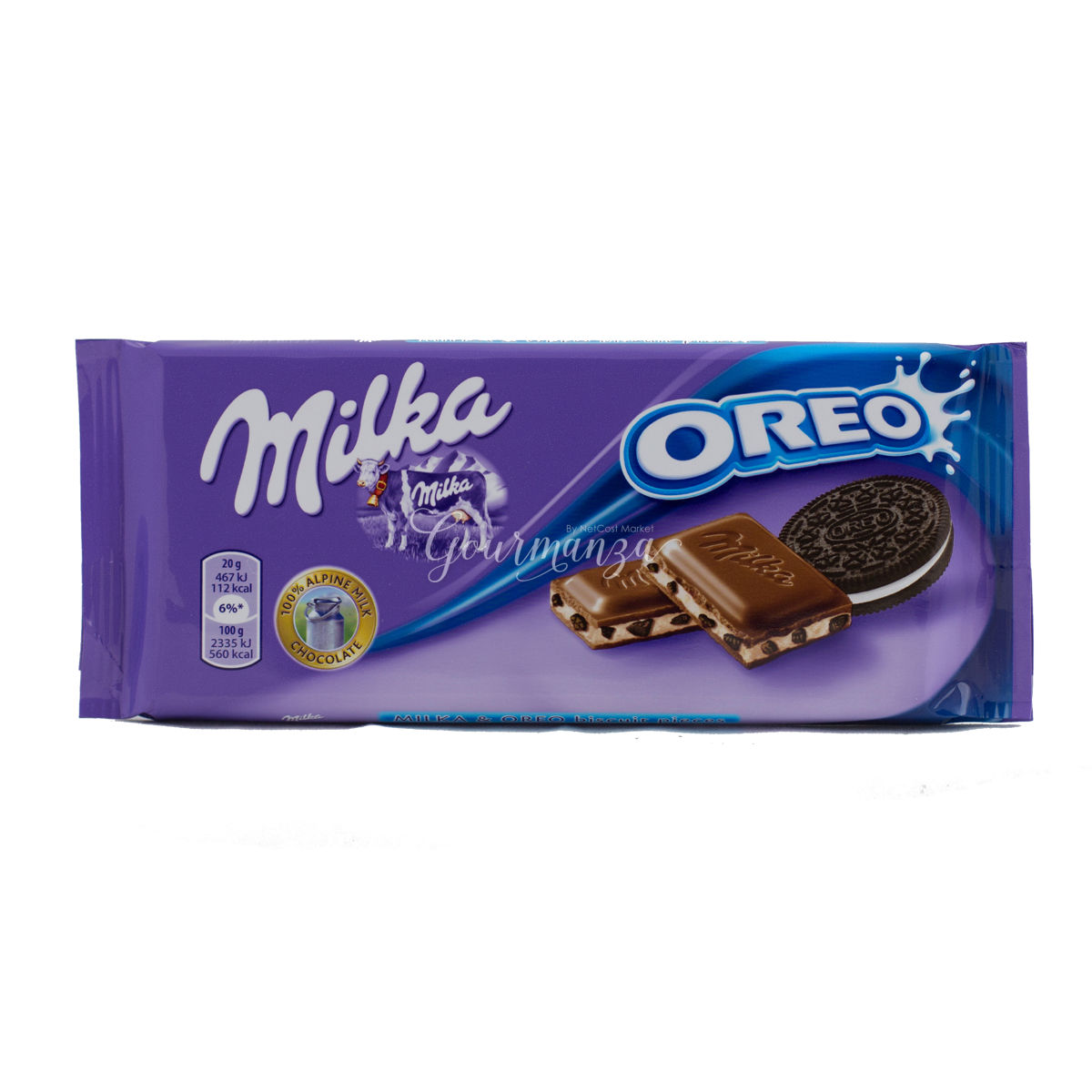 MILKA 100g With Oreo Cookies Chocolate