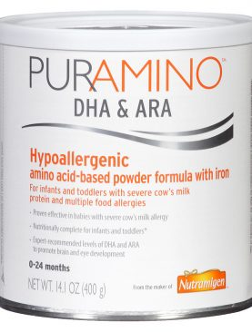 Puramino DHA & ARA Hypoallergenic Formula Powder with Iron