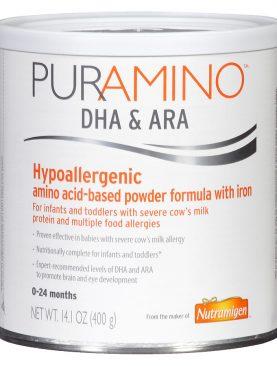 Puramino DHA & ARA Hypoallergenic Formula Powder with Iron
