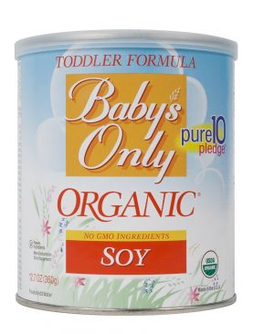 Baby's Only Organic Soy-Based Formula Powder
