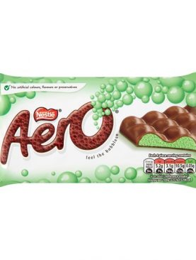 Aero Peppermint Chocolate Block