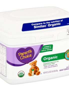 Parent's Choice Organic Infant Formula with Iron