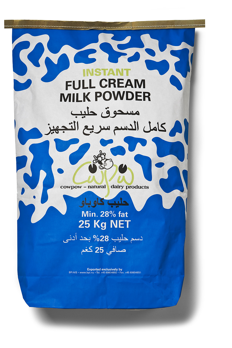 Full Cream Milk Powder, 25 KG (26% Fat)