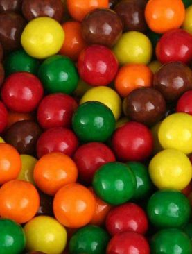 Original Assorted Sixlets Chocolate Balls- 25 Lb. Case (Gluten Free)
