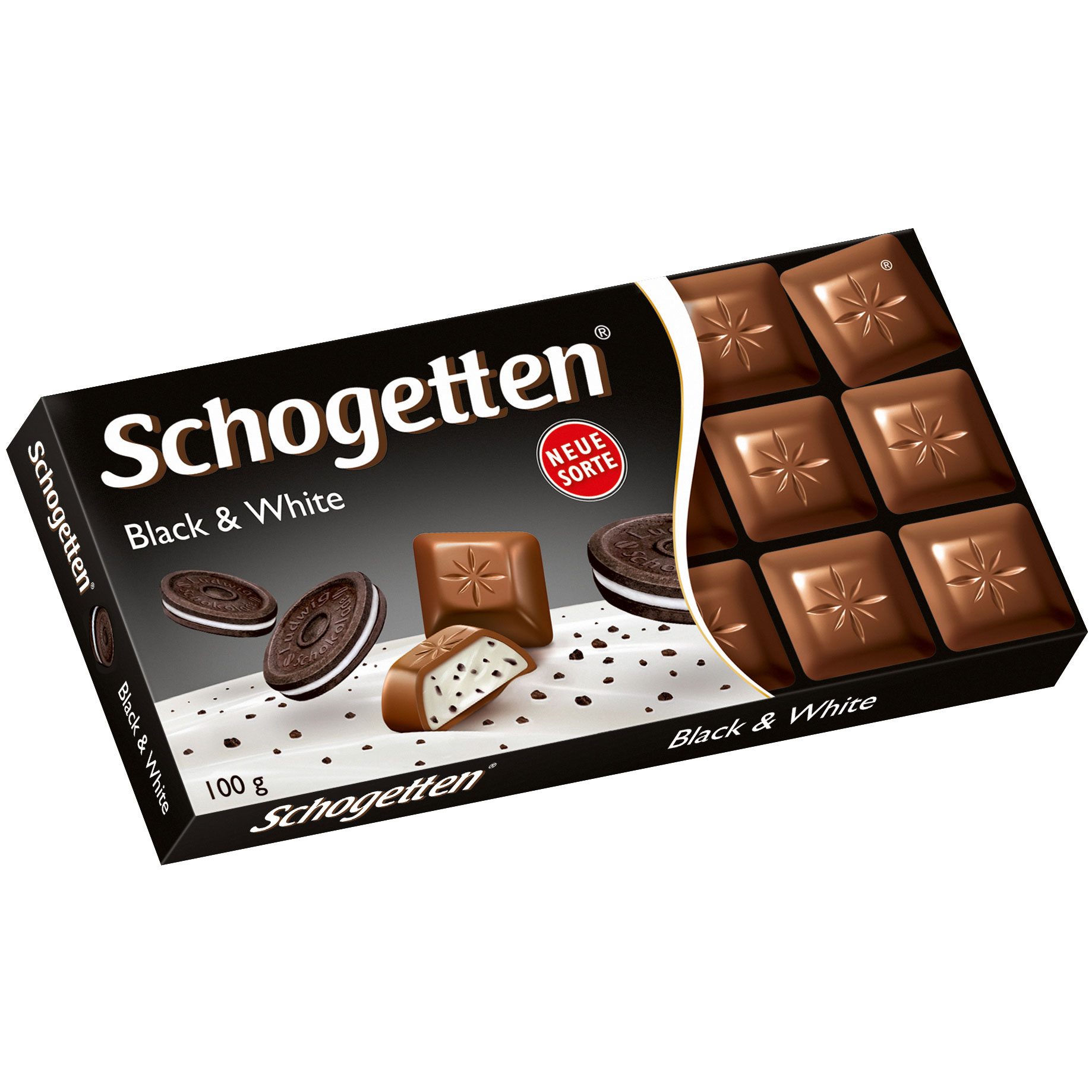 Wholesale Schogetten Black & White chocolates