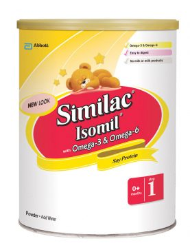Similac Isomil with Omega-3 & Omega-6 Powder