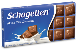 Schogetten Alpine Milk Chocolate with Hazelnuts suppliers