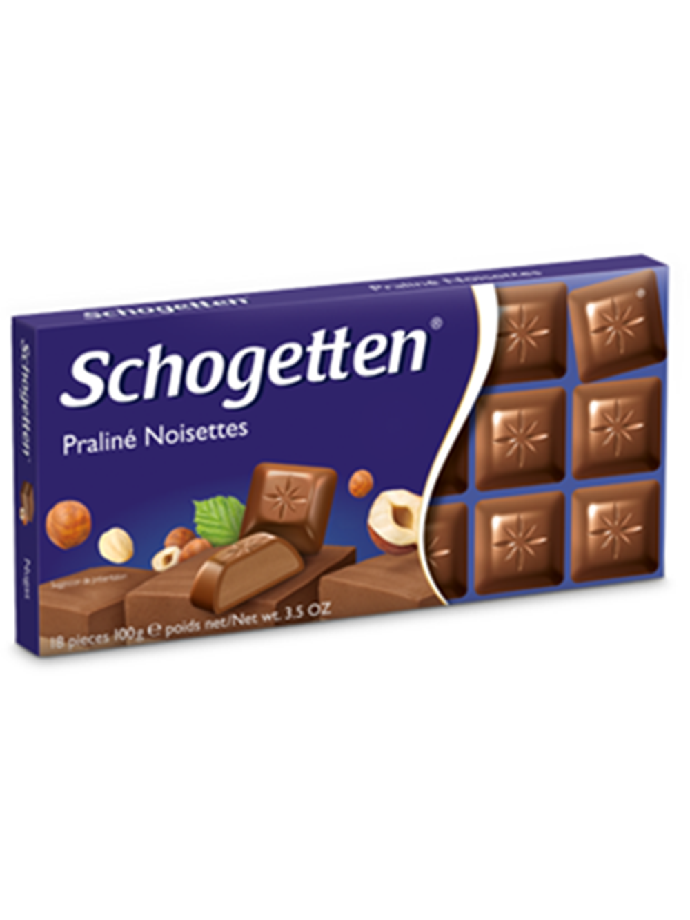 Wholesale Schogetten Pralin Noisettes