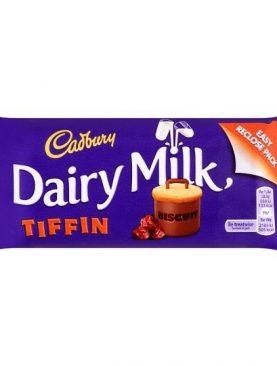 Cadbury Dairy Milk Tiffin Bar Limited Edition