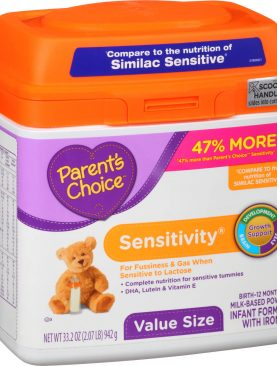 Parent's Choice Sensitivity Infant Formula Powder