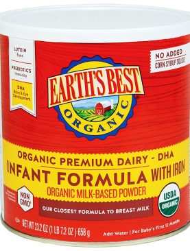 Earth's Best Organic Infant Formula Dairy Non-DHA