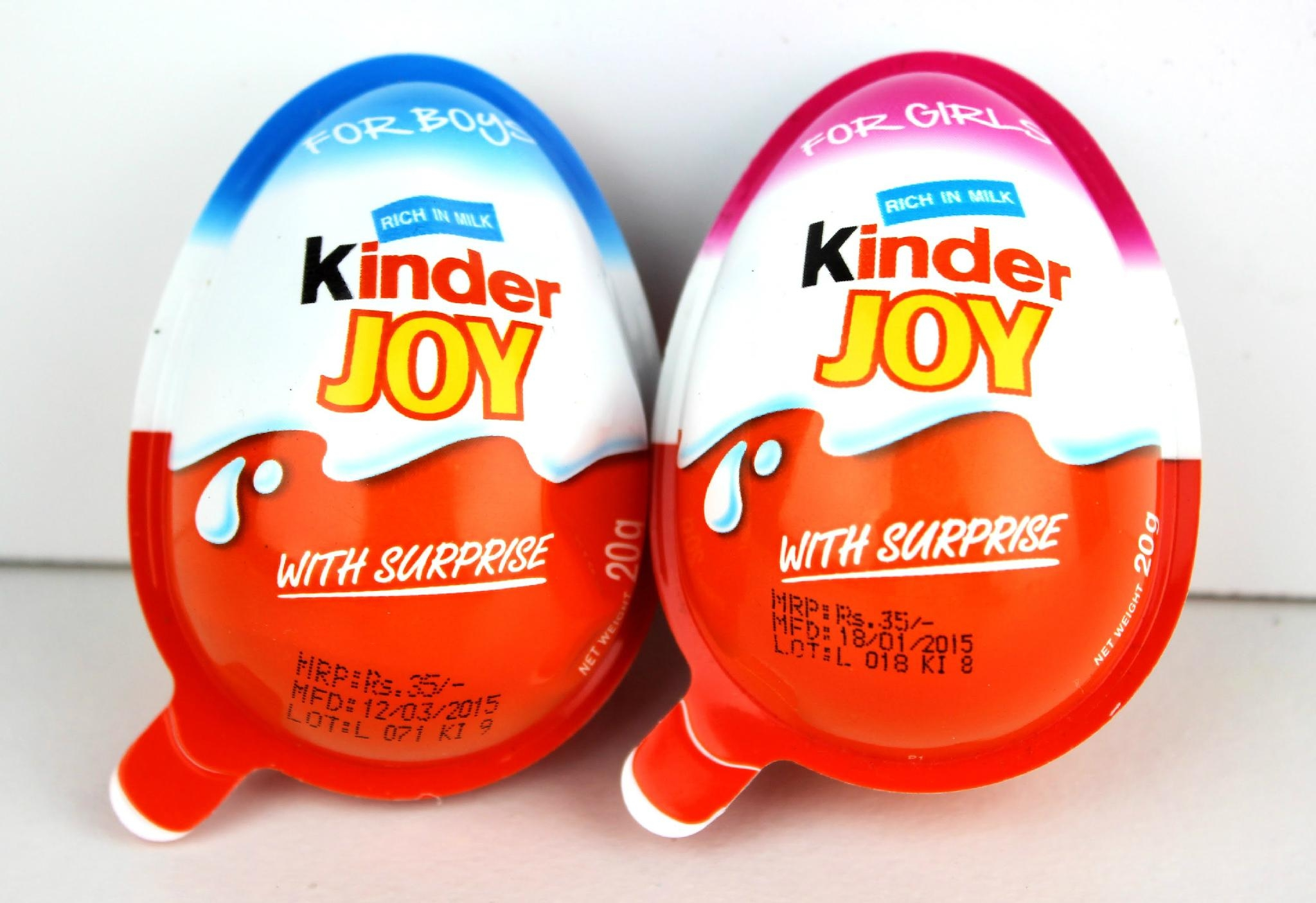 Ferrero Kinder Joy Chocolate Suppliers