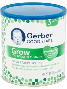 Gerber Good Start Grow Powder Nutritious Toddler Drink Stage 3