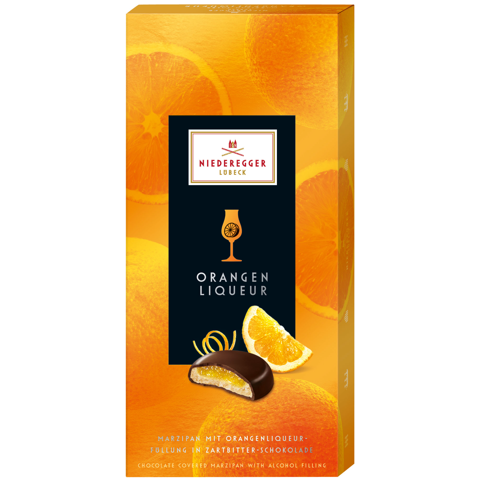 Wholesale Niederegger Orange Flavoured Marzipan
