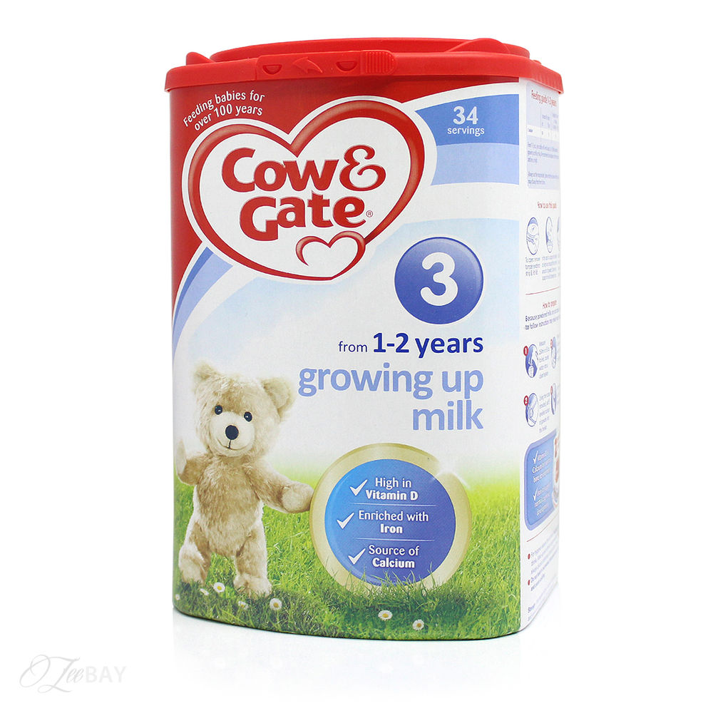 Cow And Gate Milk Powder 1+ Years 900G